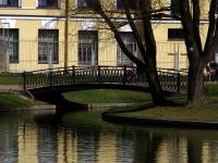 Адмиралтейский район, сквер Юсуповский садулица Садовая, сквер Юсуповский сад