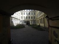 Адмиралтейский район, Спасский переулок, дом 4. многоквартирный дом