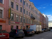 Адмиралтейский район, Спасский переулок, дом 5. многоквартирный дом