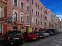 Адмиралтейский район, Спасский переулок, дом 7. многоквартирный дом