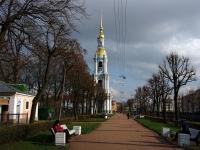 Адмиралтейский район, площадь Никольская, дом 1 ЛИТ Б. колокольня Николо-Богоявленского Морского собора