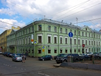 , square Teatralnaya, house 18. multi-purpose building