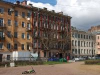 Адмиралтейский район, улица Витебская, дом 3. многоквартирный дом