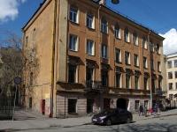 Адмиралтейский район, улица Витебская, дом 9. многоквартирный дом