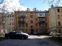 Адмиралтейский район, улица Витебская, дом 10. многоквартирный дом