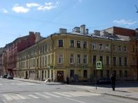 Адмиралтейский район, улица Витебская, дом 19. многоквартирный дом