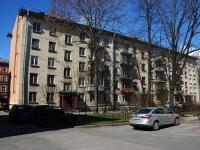 Адмиралтейский район, улица Витебская, дом 20. многоквартирный дом
