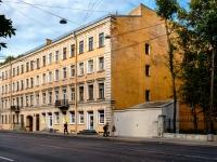 Адмиралтейский район, Старо-Петергофский проспект, дом 10. многоквартирный дом
