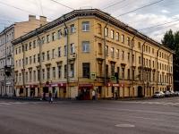 Адмиралтейский район, Старо-Петергофский проспект, дом 13. многоквартирный дом