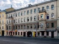Адмиралтейский район, Старо-Петергофский проспект, дом 17. многоквартирный дом