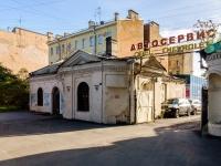 Адмиралтейский район, Старо-Петергофский проспект, дом 20. автосервис