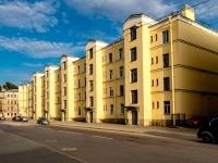 Адмиралтейский район, Старо-Петергофский проспект, дом 21. многоквартирный дом
