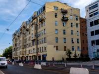 Адмиралтейский район, Старо-Петергофский проспект, дом 28. многоквартирный дом