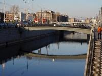 """Адмиралтейский район, улица Набережная Обводного канала. мост """"Можайский"""""""