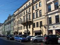 Адмиралтейский район, улица Большая Морская, дом 27. многоквартирный дом