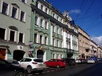 Адмиралтейский район, улица Большая Морская, дом 29. многофункциональное здание