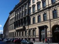 Адмиралтейский район, улица Большая Морская, дом 37. многофункциональное здание