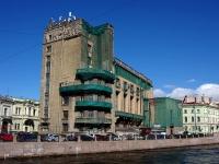 Адмиралтейский район, улица Большая Морская, дом 58. многофункциональное здание