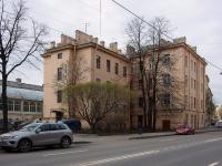 Адмиралтейский район, Подъездной переулок, дом 3. многоквартирный дом