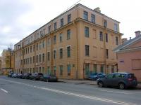Адмиралтейский район, Подъездной переулок, дом 5. многоквартирный дом