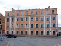 Адмиралтейский район, Подъездной переулок, дом 11. многоквартирный дом