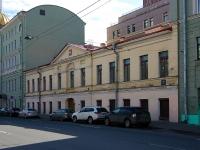 Адмиралтейский район, улица Якубовича, дом 6. здание на реконструкции