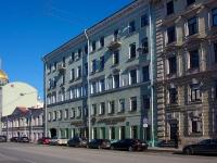 Адмиралтейский район, улица Якубовича, дом 8. многоквартирный дом