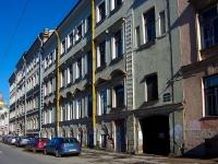 Адмиралтейский район, улица Якубовича, дом 20. многоквартирный дом