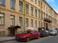Адмиралтейский район, улица Якубовича, дом 22. многоквартирный дом