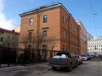 Адмиралтейский район, улица Большая Подьяческая, дом 4. многоквартирный дом