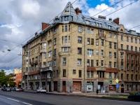 Адмиралтейский район, Загородный проспект, дом 64. многоквартирный дом