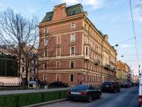 Адмиралтейский район, Загородный проспект, дом 60. многоквартирный дом