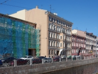 Адмиралтейский район, улица Набережная Адмиралтейского канала, дом 9. многоквартирный дом