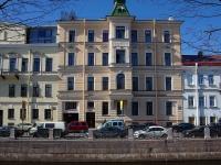 Адмиралтейский район, улица Набережная Адмиралтейского канала, дом 27. многоквартирный дом