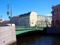 """Адмиралтейский район, улица Большая Морская. мост """"Фонарный"""""""