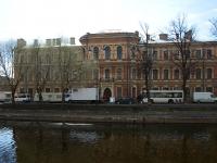 Адмиралтейский район, улица Набережная реки Пряжки, дом 5. многофункциональное здание