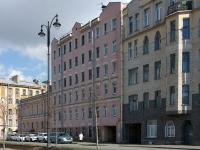 Адмиралтейский район, улица Набережная реки Пряжки, дом 38. многоквартирный дом