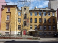 Адмиралтейский район, Калинкин переулок, дом 4. многоквартирный дом