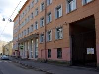 Адмиралтейский район, улица Канонерская, дом 12. больница им. П.П. Кащенко
