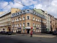 Адмиралтейский район, улица Канонерская, дом 25. многоквартирный дом