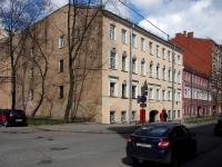 Адмиралтейский район, улица Канонерская, дом 31. многоквартирный дом