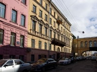 Адмиралтейский район, улица Почтамтская, дом 11. многоквартирный дом
