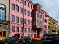 Адмиралтейский район, улица Почтамтская, дом 13. многоквартирный дом