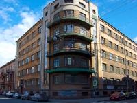 Адмиралтейский район, улица Почтамтская, дом 23. многоквартирный дом