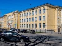 Адмиралтейский район, улица Циолковского, дом 1. многоквартирный дом