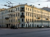 Адмиралтейский район, улица 1-я Красноармейская, дом 12. многоквартирный дом