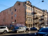 Адмиралтейский район, улица 1-я Красноармейская, дом 18. многоквартирный дом