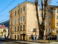 Адмиралтейский район, улица 1-я Красноармейская, дом 24. многоквартирный дом