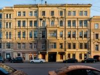 Адмиралтейский район, улица 1-я Красноармейская, дом 16. многоквартирный дом