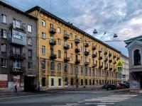 Адмиралтейский район, улица Курляндская, дом 18. многоквартирный дом